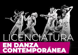 Licenciatura en Danza Contemporanea